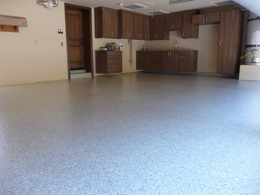 Concrete Garage Floor : Commercial residential epoxy concrete floors orange