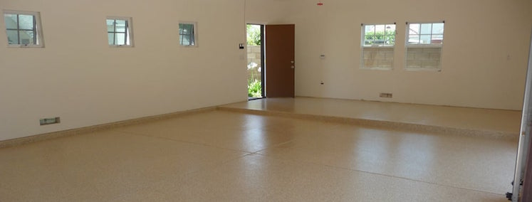 Colored Chip Floor Systems Aaadvantage Concrete Coatings