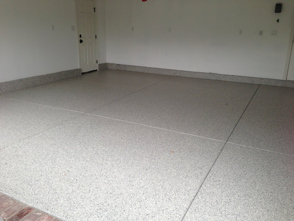 Residential Garage Floor Concrete Coating Pictures
